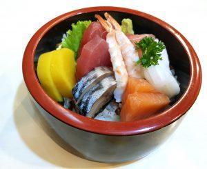 Japanische Chirashi Schüssel