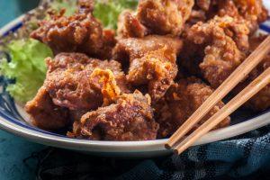Karaage - frittiertes Huhn