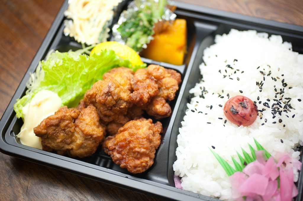 Karaage in der Bento Box